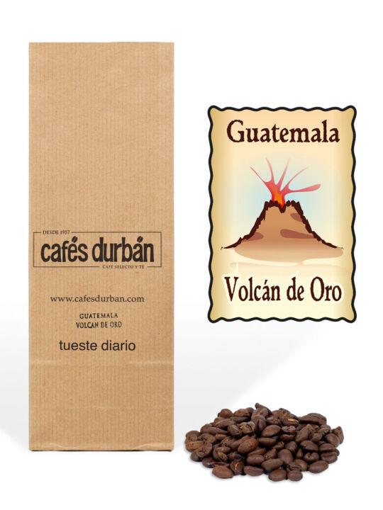Café Guatemala Volcan de Oro en grano (250 gr)