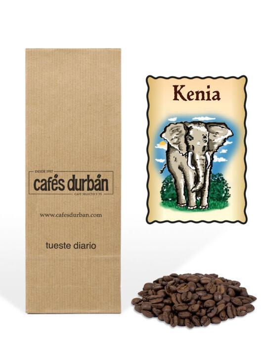 Café Kenia en grano (250 gr)