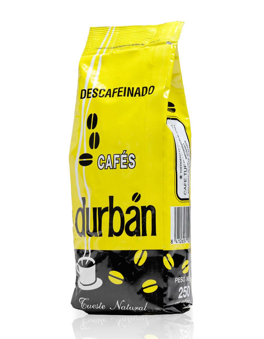 Café Durbán Descafeinado en grano (250gr)