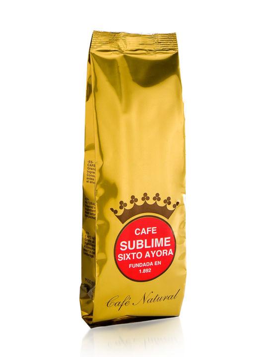 Café Sublime-Sixto Ayora Natural en grano (250gr)